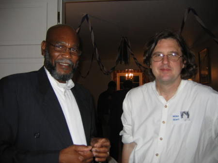 Clyde and Michael, SNAHS Reunion, 2005